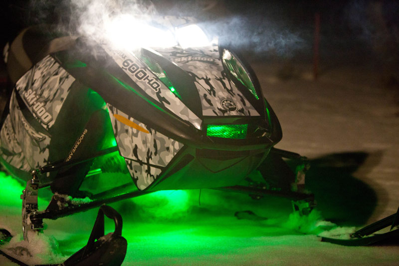 Fusion Lit Snowmobile 1
