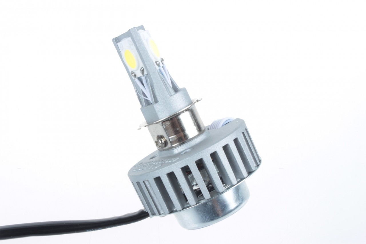 fusion led 2000 lm replacement motorcycle headlight bulb. Black Bedroom Furniture Sets. Home Design Ideas