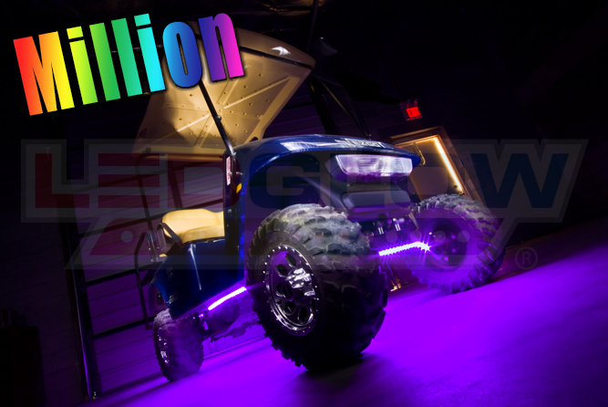 14_LEDGlow_Million_Purple_Color_Golf_Cart_Gallery